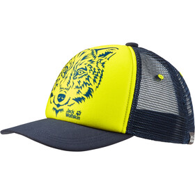 Jack Wolfskin Animal Casquette en maille Enfant, flashing green